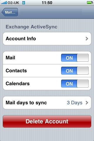Activesynceiphone